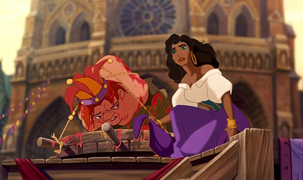 hunchback-of-notre-dame-1996-movie-review-esmeralda-quasimodo-festival-of-fools-tied-up-walt-disney-feature-film