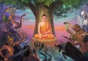 Buddha Bodhi tree Mara Dong Hung Temple chuadonghung.com 0451